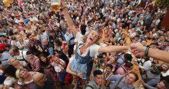 Hình ảnh lễ hội bia Oktoberfest độc đáo nhất thế giới