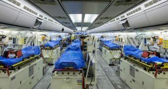 Bên trong ''bệnh viện bay'' Airbus A310 của quân đội Đức