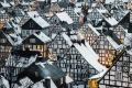 """Thị trấn độc nhất nước Đức với hàng chục nhà trông như 1, tìm nhà gian nan chẳng khác gì """"mò kim đáy bể"""""""